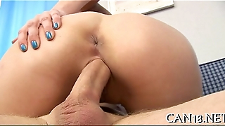 Babe acquires pussy loving bit